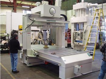 Greenerd 100 Ton Capacity Hydraulic Plate Weldment