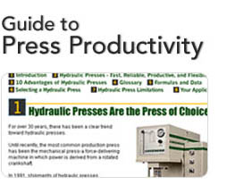 Guide to Press Productivity